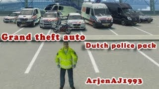 GTA 4 Dutch Police pack Official trailer
