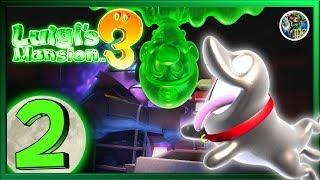Vandalismus und Diebstahl - Luigi's Mansion 3 #2 [LIVE, GERMAN]
