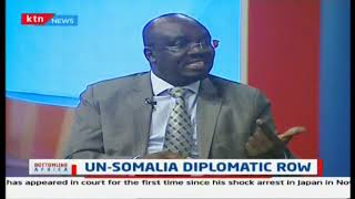 Discussion on UN-Somalia diplomatic row
