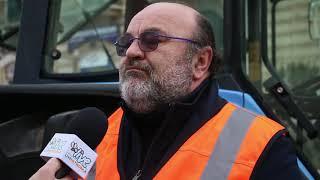 Gilet arancioni in piazza a Corato: «Il collasso dell'agricoltura è il collasso della collettività»