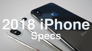 2018 iPhone Lineup Spec, Price Predictions and more