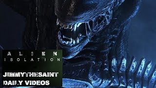 Alien Isolation PC Playthrough Max Settings Part 10 - Android Beatdown