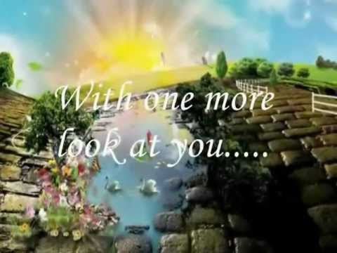 With One More Look At You_Lyrics Jack Jones