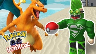 OMG WE FOUND CHARIZARD!?!?! Roblox Pokemon GO (ROBLOX) Gameplay part 9