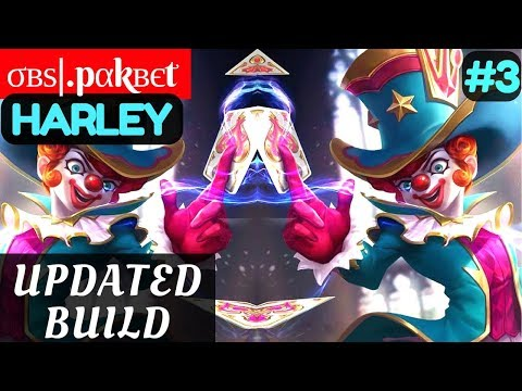 Updated Build  [Rank 1 Harley] | σвѕ.pαkвєt Harley Gameplay and Build #3 Mobile Legends