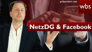Hassnachrichten über den Facebook-Messenger – Greift hier das NetzDG? | RA Christian Solmecke