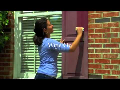 restore vinyl shutters with shutter renu youtube