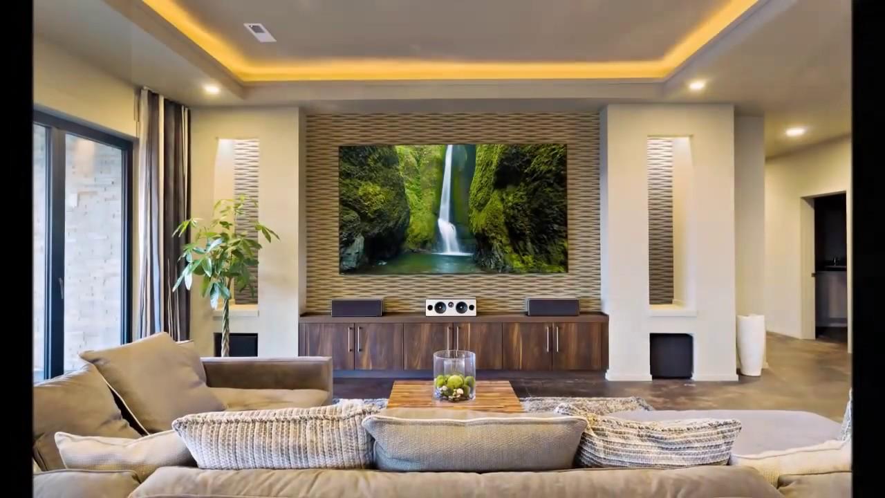 Revestimento 3d para sala em madeira youtube for Revestimento 3d sala de estar