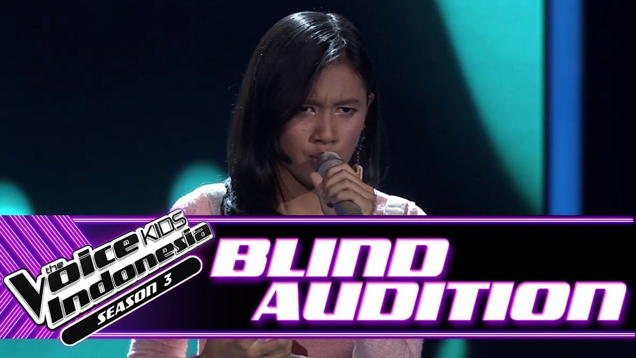 Download Meiska - Rindu | Blind Auditions | The Voice Kids Indonesia Season 3 GTV 2018