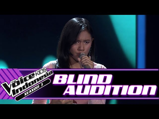 Meiska - Rindu | Blind Auditions | The Voice Kids Indonesia Season 3 GTV 2018