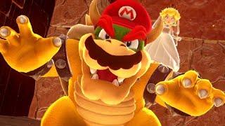 Super Mario Odyssey Walkthrough Part 40 - Final Boss Rematch & 999 Moons (100% Complete)