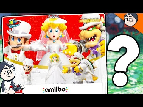 WHAT DO AMIIBOS DO IN SUPER MARIO ODYSSEY!? - SUPER MARIO ODYSSEY WALKTHROUGH #6