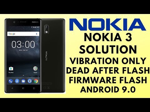 Nokia 3 Firmware (9.0) Flashing With SP Flash Tool _100%