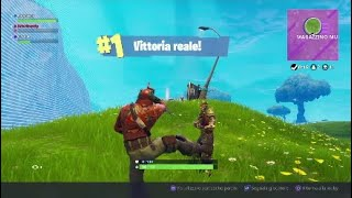 Fortnite batalla Royale Vittoria Reale #1 Ps4