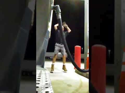 """Truck Driver in """"Burpees at the Pump"""" 1923 Walt Disney Company is Founded"""