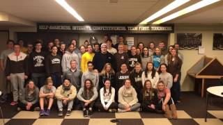 Happy Holidays from Lehigh University Swimming and Diving!