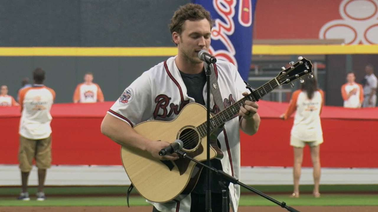 Sdatl phillip phillips performs national anthem youtube sdatl phillip phillips performs national anthem m4hsunfo