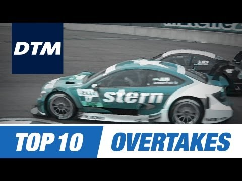 DTM Top 10 Brilliant Overtakes