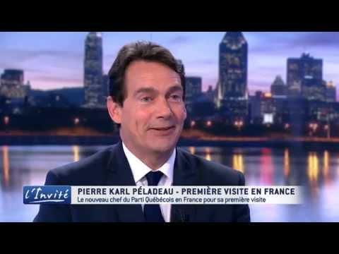 """Pierre Karl PÉLADEAU : """"Je veux faire du Québec un pays"""""""
