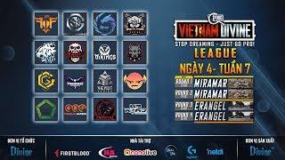 Divine League: Master| Tuần 7| FFQ, REFUND, DIVINE, SGD, H2, Envil Gaming...