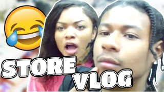 Vlog: to the store with dc squaad!!! and chanelles mom!!