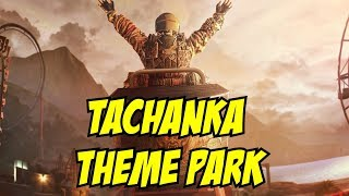 Rainbow Six Siege Tachanka on Roller coaster Theme Park Map Hong Kong DLC