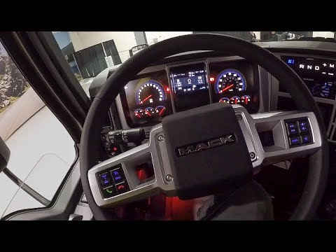 Exclusive drive in new Mack Anthem truck