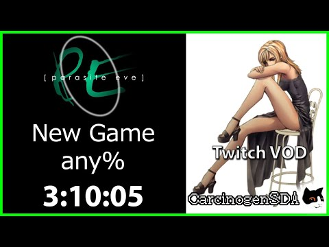 Parasite Eve (PS1) Speedrun - any% - (3:10:05) [Twitch VOD]