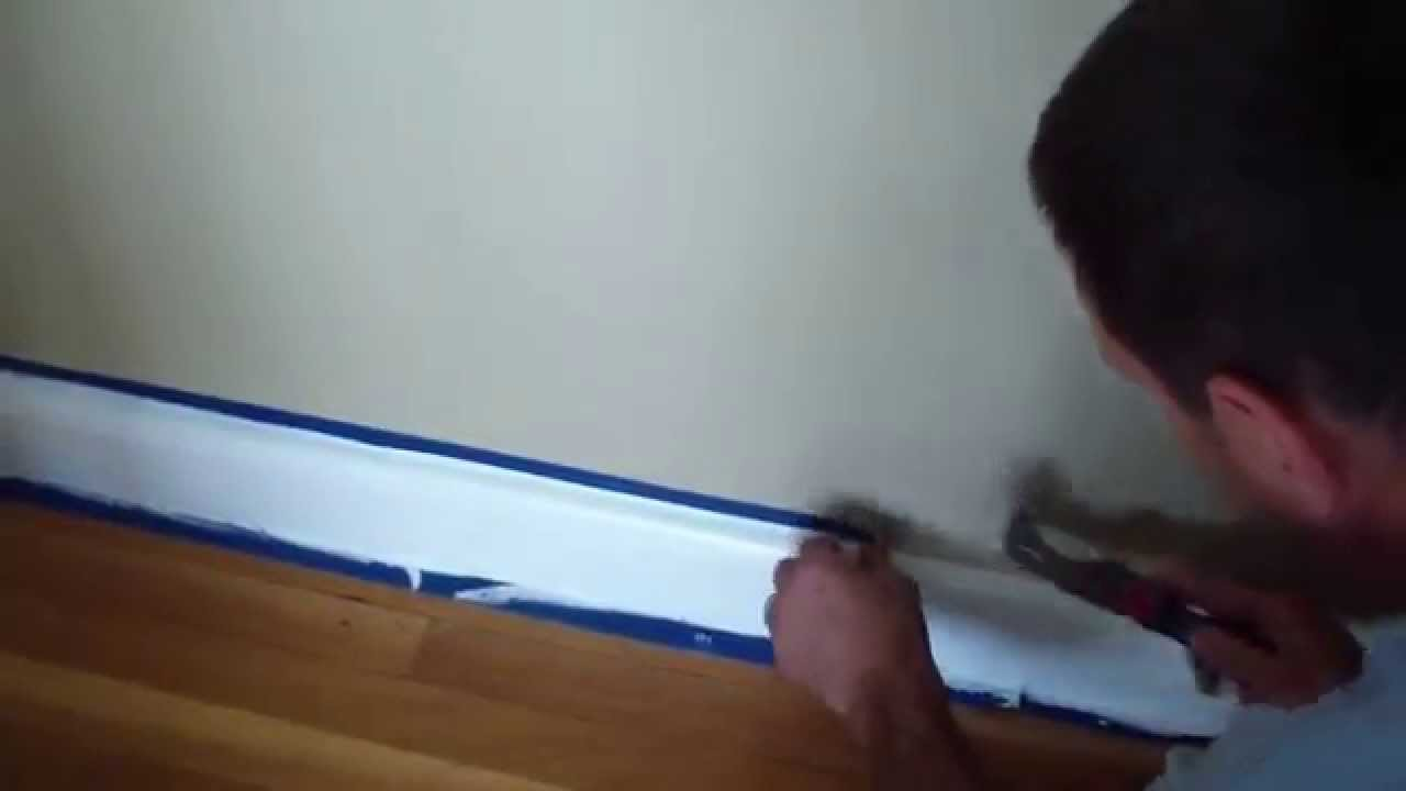How To Remove Blue Painters Tape