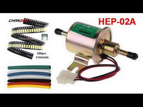 Светодиоды ремкомплект, термоусадочные трубки и топливный насос HEP-02A