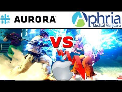 Aurora Vs Aphria NYSE Listing - Apple Down On Earnings - FANG Stocks (ACB vs APHA)-Aurora Cannabis