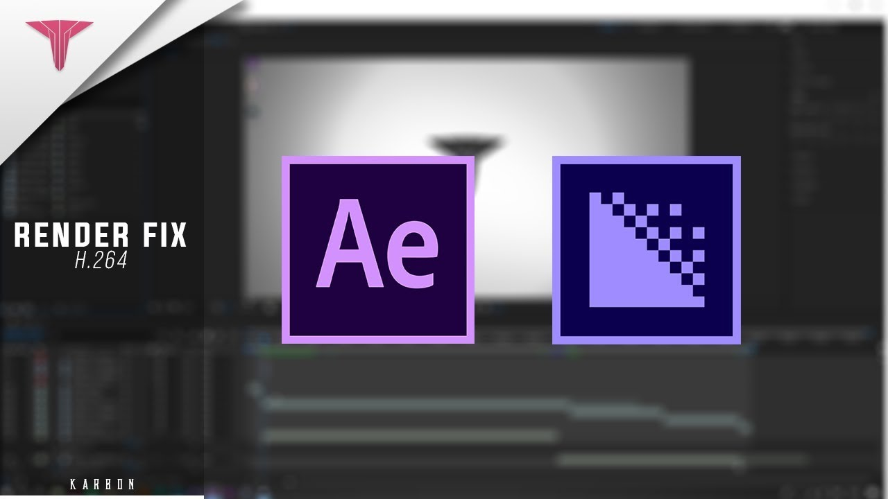 Adobe after effects H 264 render fix 2018