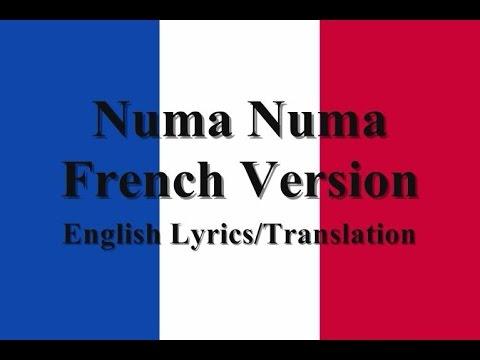 Numa Numa French Version (Argent-Argent) English Lyrics/Translation