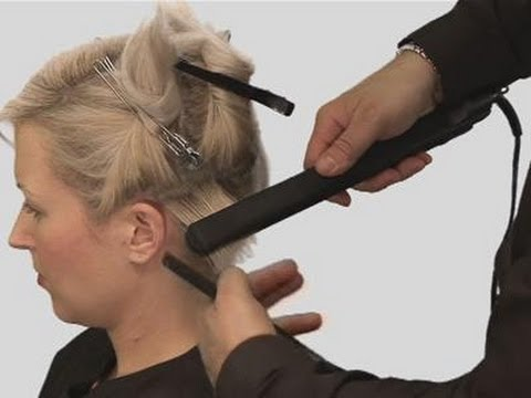 How To Get Great Results Straightening Short Hair Youtube