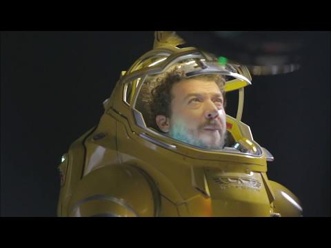 Alien: Covenant: Behind The Scenes Movie Broll - Michael Fassbender, Ridley Scott