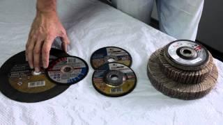 видео круги шлифовальные