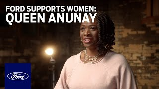homepage tile video photo for Ford Supports Women Who Power America Forward – Meet Queen Anunay | Go Further | Ford