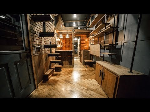 Delicieux The Rook Tiny House By Wind River Tiny Homes | Interior U0026 Exterior