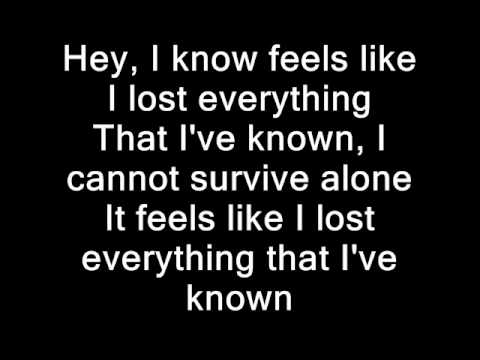 Korn Lyrics Everthing Ive known.wmv