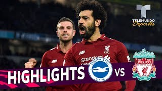 Brighton vs. Liverpool: 0-1 Goals & Highlights | Premier League | Telemundo Deportes