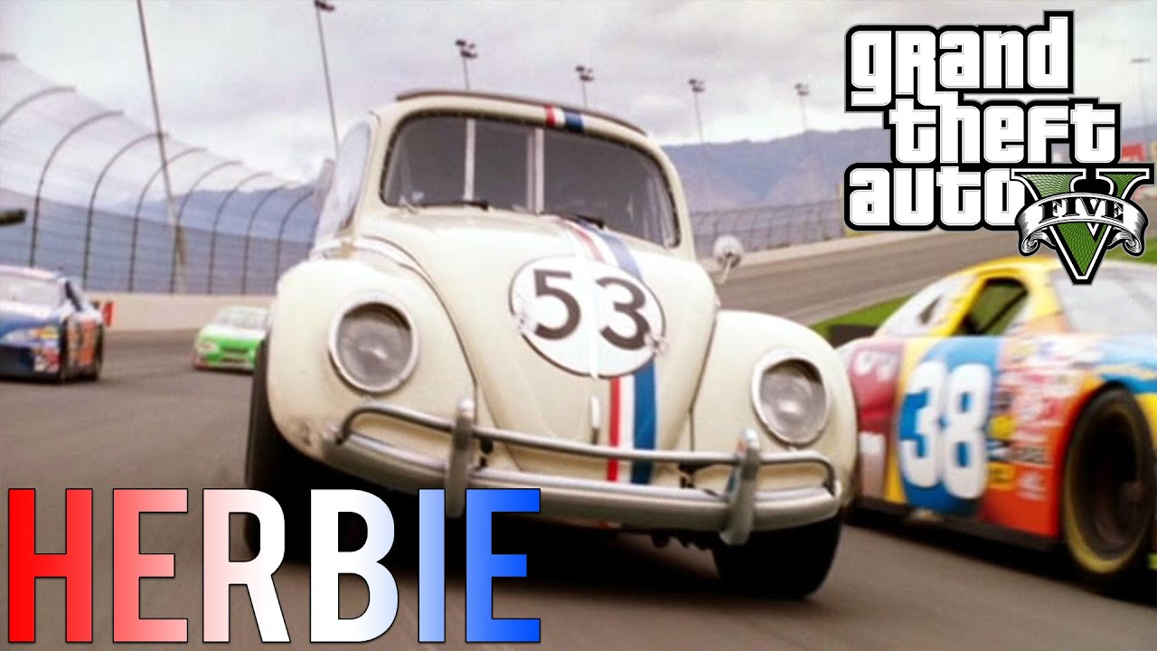Herbie A Toda Marcha: GTA V MODS : Herbie A Toda Marcha !!
