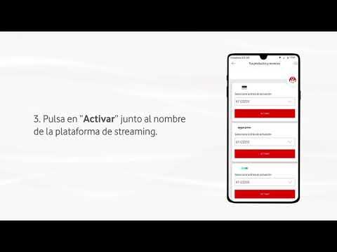 Cómo suscribirte en la app a plataformas de streaming