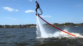 South Texas Flyboard - First Day on Lake Conroe