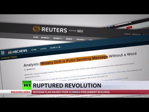 Media warmongering hype links Russia regular drill to Ukraine, Crimea tension