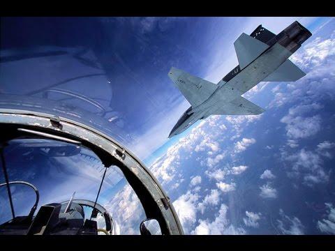 US Air Force T-38 Talon training video 03 (basic maneuvers, landing and landing irregularities)