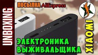 Электроника выживальщика. Xiaomi power bank 10000 mAh Aliexpress #159 Любители походов
