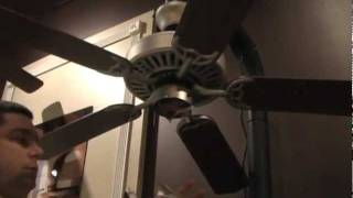 Eyehandy how to install a ceiling fan with savannah how to install a ceiling fan light kit aloadofball Images
