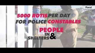 Contribution in this Lockdown | Parul University | WideAngle Studios