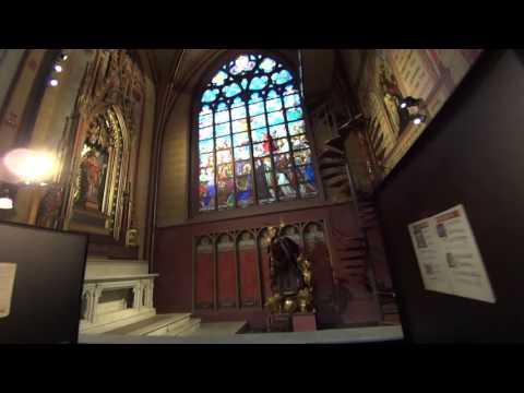 ベルギー・ノートルダム大聖堂・ルーベンスキリストの降架