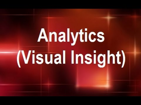 MicroStrategy - Analytics (Visual Insight) - Online Training Video by MicroRooster
